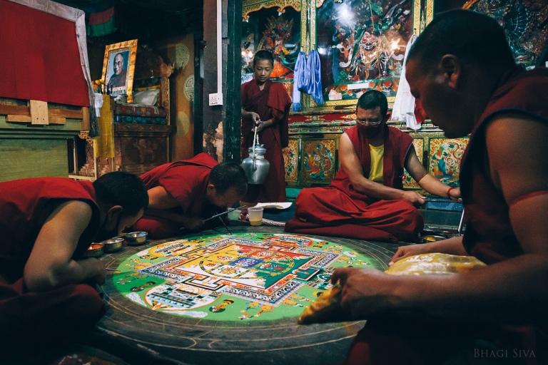 ladakh monastery, ladakh, thiksey monastery, ladakh scenery, landscapes ladakh, buddhist monks, himalayan ranges, dalai lama